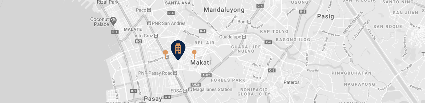 Red Residences Map